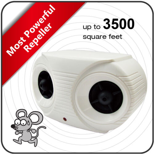 DTMCare Ultrasonic Electronic High Power/wide coverage Pest Repeller/controller