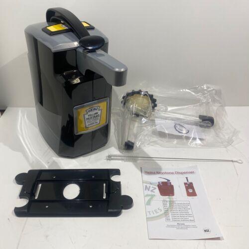 Heinz Keystone Mustard Pump Dispenser, Item #9600, New In Box, Excellent!