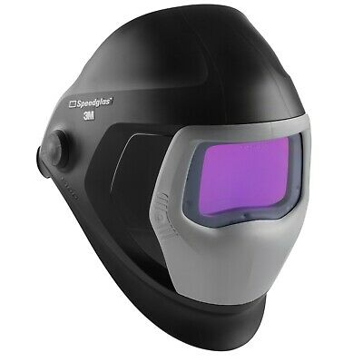 3m Speedglas 9100v Auto Darkening Welding Helmet Tig Mig Mma Shade 5 8-13