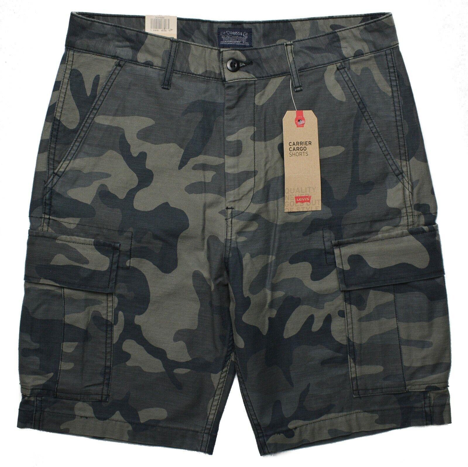 Levi's #10103 NEW Men's Camouflage 100% Cotton Carrier Cargo