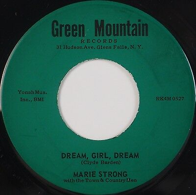 MARIE STRONG w/ TOWN + COUNTRY MEN: Dream Girl GREEN MOUNTAIN NY Country 45 - Dream Girl Ny