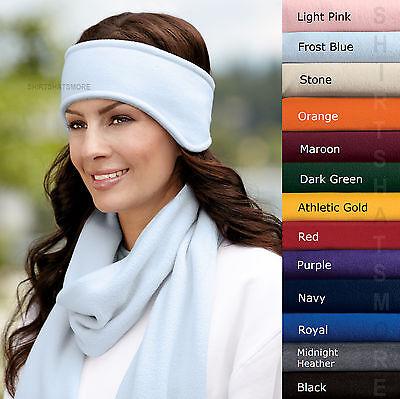 Ear Warmer WInter Head Band Polar Fleece Ski Ear Muff Unisex Stretch Spandex Hat