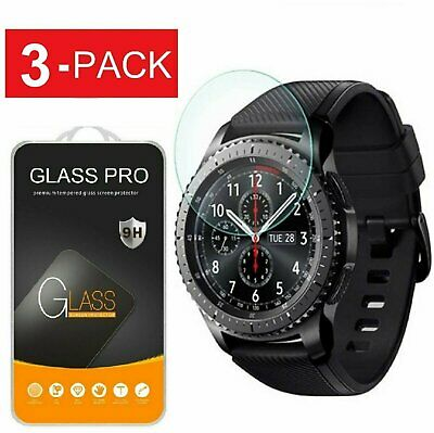 3-Pack Tempered Glass Film Screen Protector For Samsung Gear S3 Frontier Classic Cell Phone Accessories