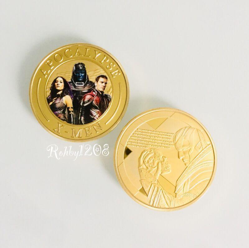 X-men Apocalypse Challenge Coin Medallion Poker Marker Card Holder APA Holder
