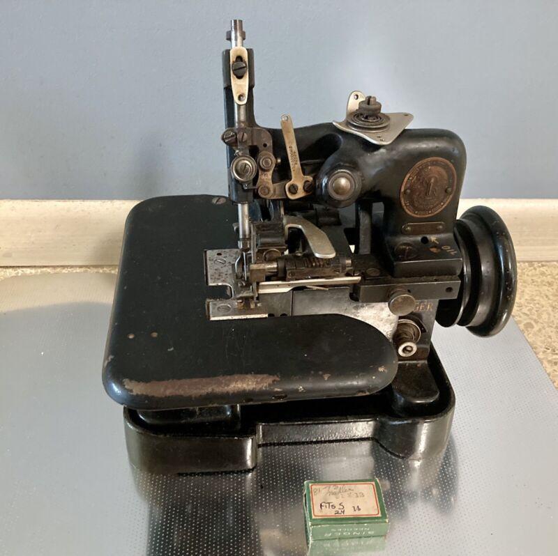 Singer Overlock Sewing Machine 81 sv 19 Overedging 2 Threads Heavy Duty