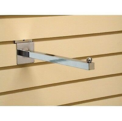 Only Hangers Chrome Faceout Square Tube 14 For Slatwall