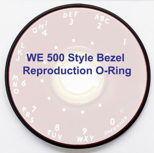 WE 500 Style Bezel Reproduction O-Ring/Gasket/Seal  (#G02)