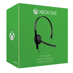 XBOX-ONE-CHAT-HEADSET-BRAND-NEW-SEALED-OFFICIAL-PAL