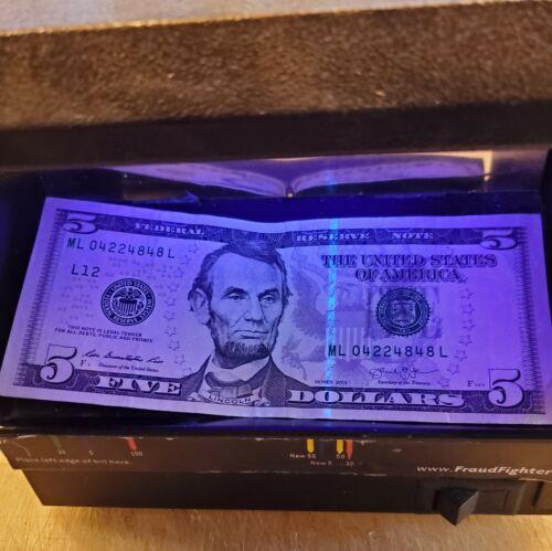 Fraud Fighter UV Counterfeit Detector