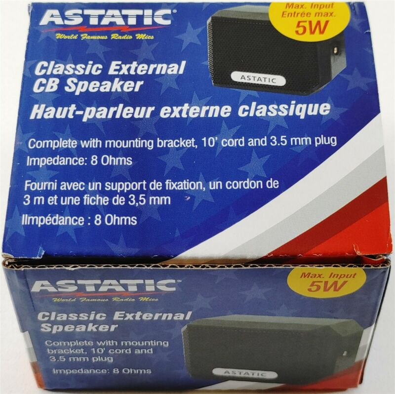 Astatic VS4 Classic Compact External CB Radio External Speaker - FREE SHIPPING