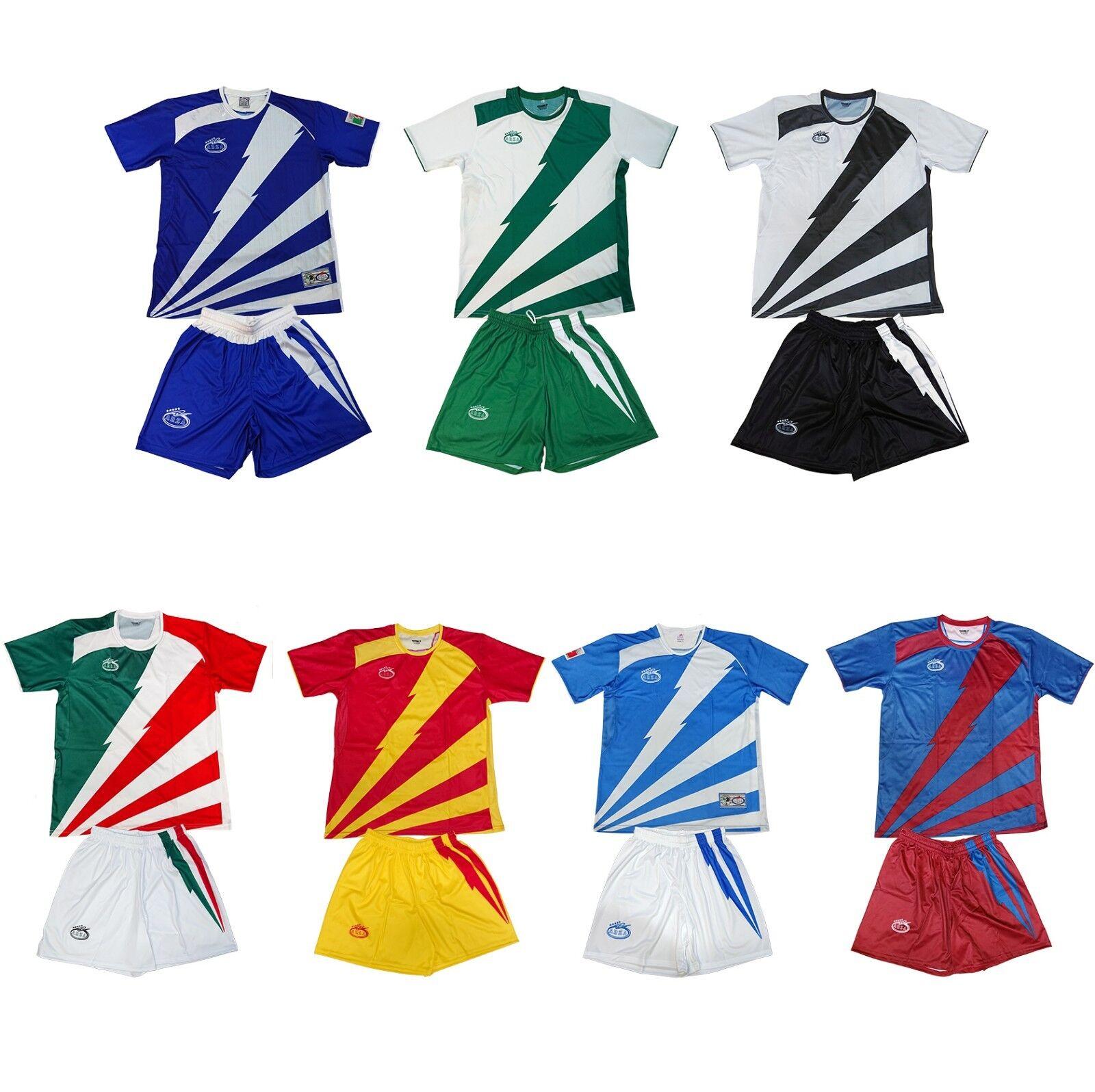 Men's 20 Soccer Uniforms Lot Jersey Short Socks Number