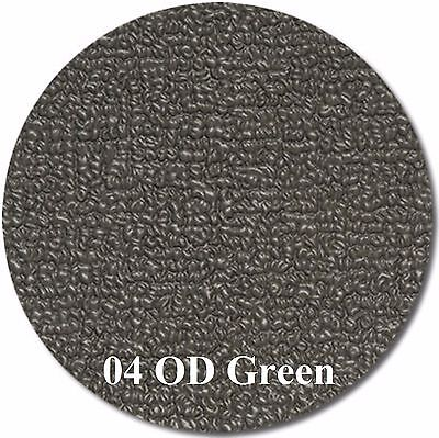 MariDeck Boat Marine Outdoor Vinyl Flooring - Olive Drab (OD) Green - 6' x 26'