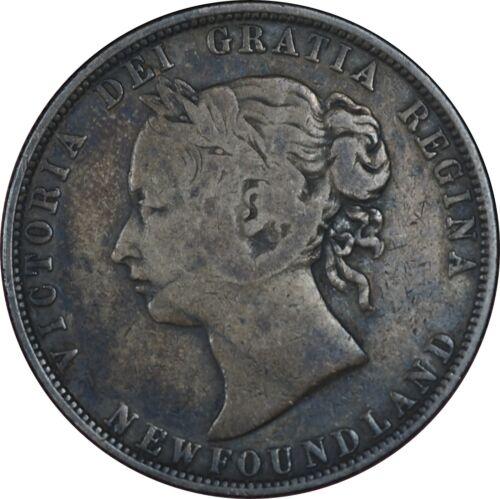 1881 Canada 50 Cents Fine Condition - Nice Original Patina