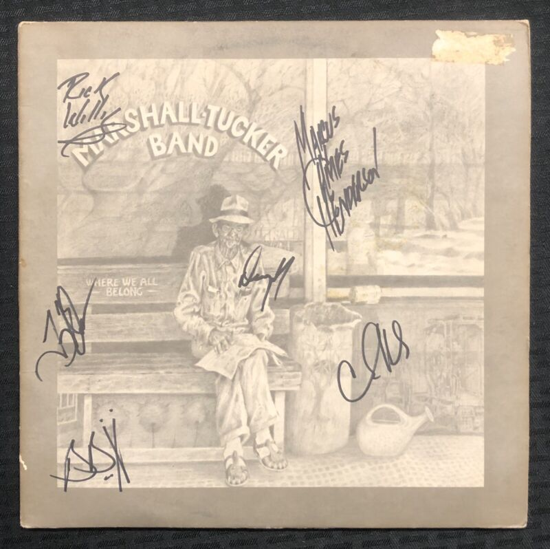 MARSHALL TUCKER BAND Signed (6) Autographed Album LP BAS AUTH Beckett - Sweet!