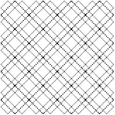 Dotted Argyle Cover A Card Background Unmounted Rubber Stamp IO Stamp CC175 New Argyle-cover