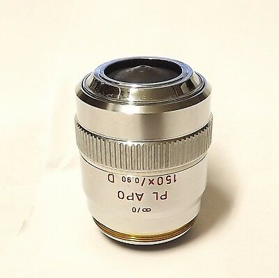 Leitz Pl Apo 150x 0.90 D Microscope Objective  0 Part 567043 Plan Apo