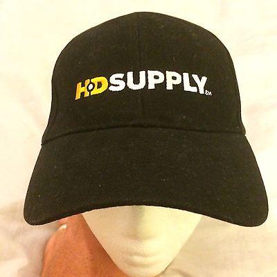 Hd Supply Frigidaire Black Cap Hat Strapback Nwot