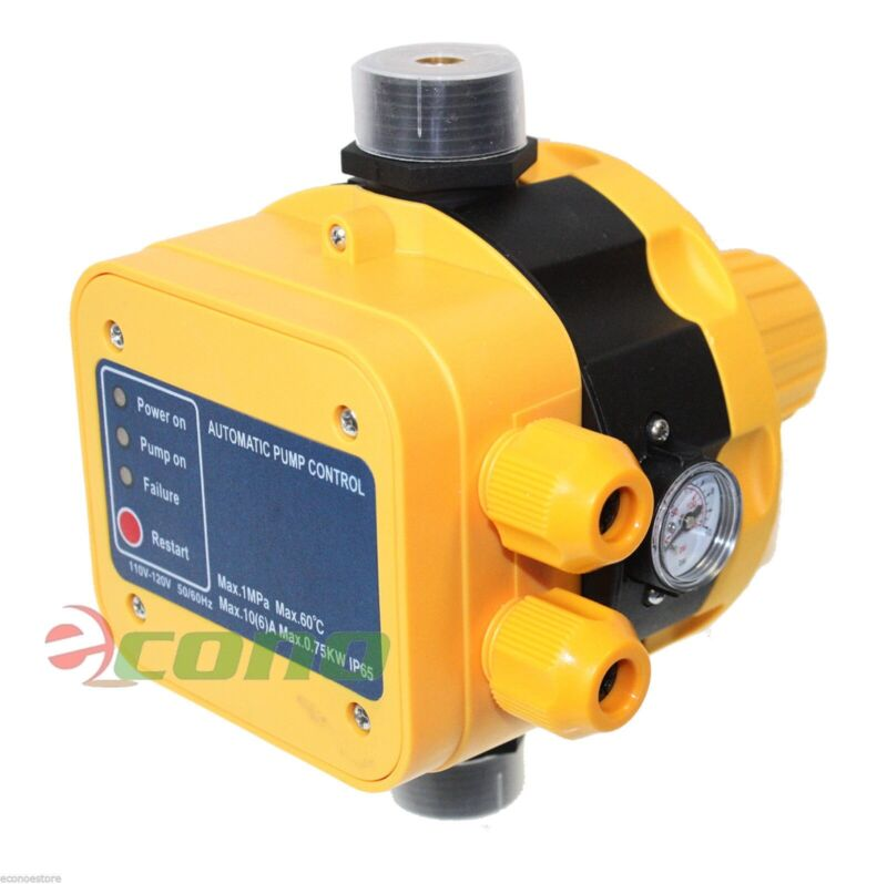 Automatic Water Pump Pressure Controller Electronic Pressure Switch.145PSI