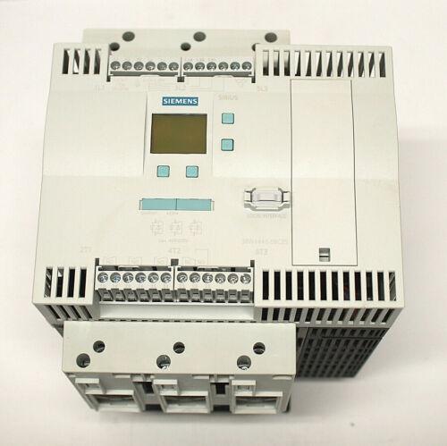 SIEMENS 3RW4446-6BC35 SIRIUS SOFT STARTER 250HP/460V 300HP/575V (7D7)