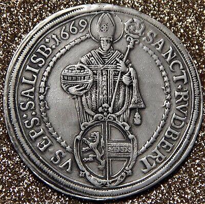 Salzburg-Erzbistum Taler 1669, Max Gandolph von Kuenburg (1668-1687)