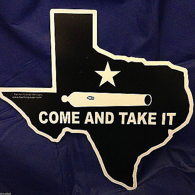 """Come and Take It"" Texas Shaped  Decorative Sign"