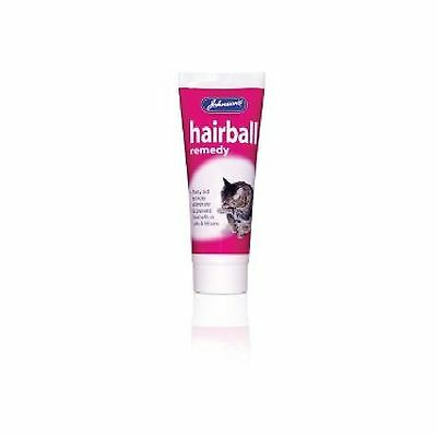 Johnsons Hairball Remedy 50g - Cat Control Malt Treat Functional Paste Treatment
