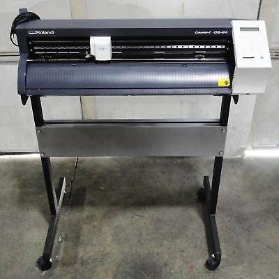 Roland Gs-24 Camm-1 24 Precision Vinyl Cutter With Stand
