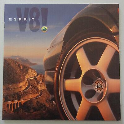V18516 LOTUS ESPRIT V8 - CATALOGUE - NON DATE - 21x21 - GB