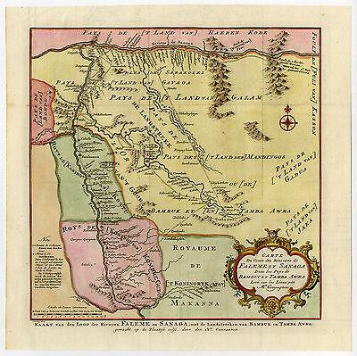 Antique Print-FALEME-SANAGA-SENEGAL-CAMEROON-Schley-Bellin-1758