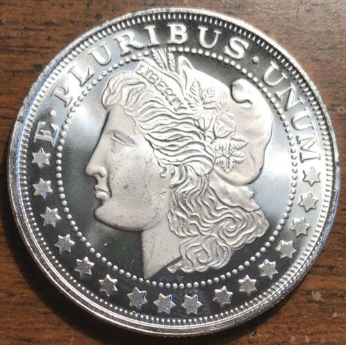 2020 Morgan $1 Dollar Design 1 oz Silver 9999 Fine Coin Brilliant UNC+