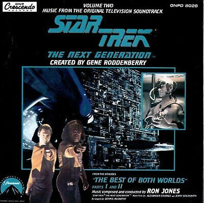 STAR TREK THE NEXT GENERATION: Best of Both Worlds TV series soundtrack CD