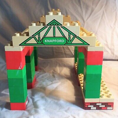 Lego Duplo Train Knapford Station large set played with condition