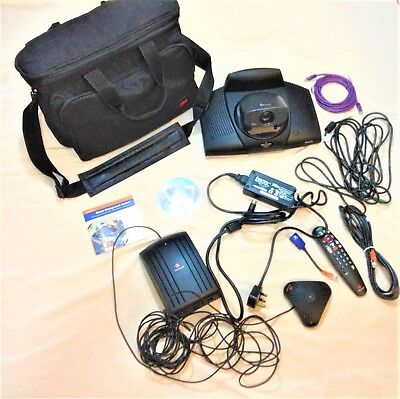 Polycom PVS-16XX ViewStation SP - Video Conferencing with cables + accessories