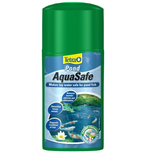 TETRA AQUASAFE FISH POND TREATMENT 500ML - Posted Today if Paid Before 1pm