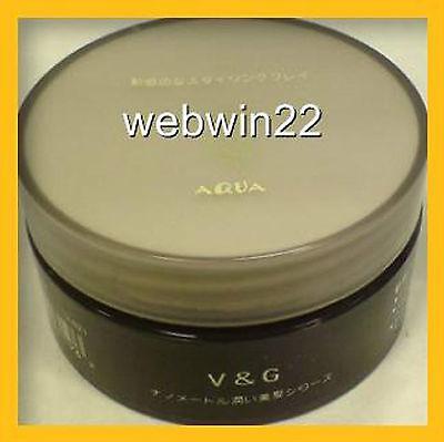 V&G AQUA Sculpting Clay Hair 85g Long Lasting Japan made strong hold matte mat