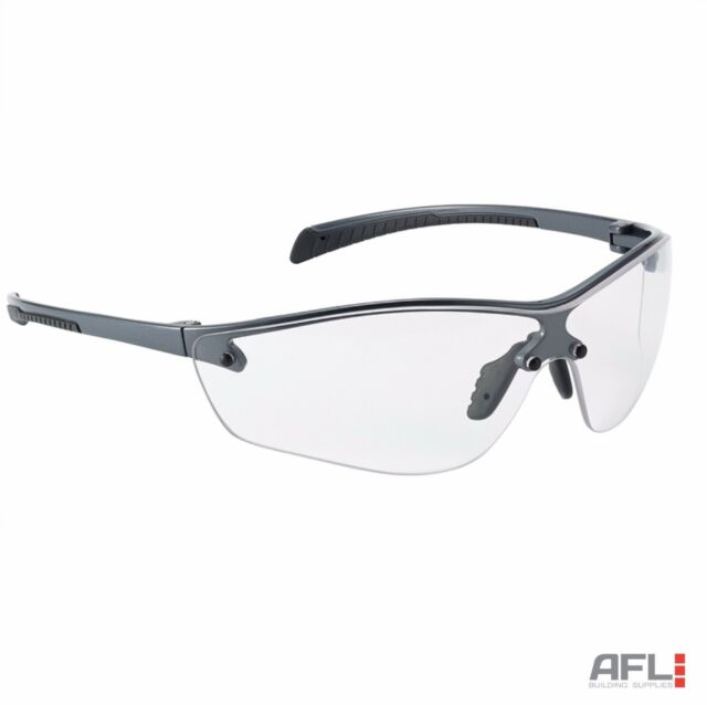 Bolle Silium+ Anti-Fog Anti-Scratch Safety Spectacles Glasses - Clear Lens