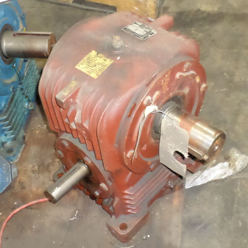 EX-CELL-O CORP. CONE DRIVE 30:1 RATIO 6.12HP RATED GEAR REDUCER HU50-2 OPTION 56