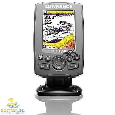 Lowrance HOOK 3X Broadband fishfinder 83/200 kHz - 000-12717-001  - Sonar Depth