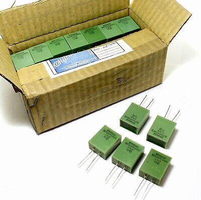 12 Pcs 0.448uf 0.45uf 250v 0.5 Polystyrene Audio Capacitors K71-7