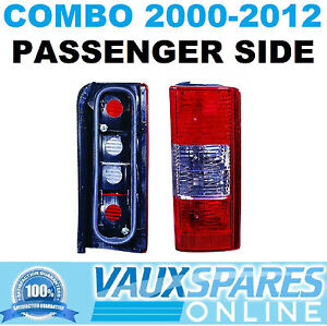 COMBO VAN NEW REAR BACK LIGHT CLUSTER LENS ASSEMBLY PASSENGER NEAR SIDE CDTI DTI