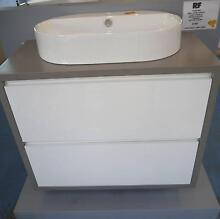 RRP.$2460 Ex Display RF Grey Pure 900 Bathroom Wall Hung Vanity Melbourne CBD Melbourne City Preview