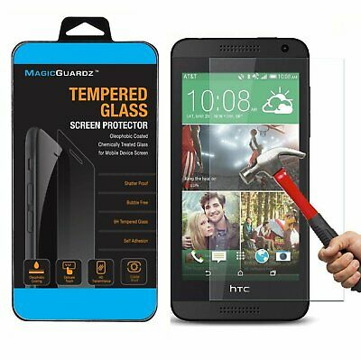 Premium Tempered Clear Glass Screen Protector Film For HTC Desire 610 Cell Phone Accessories