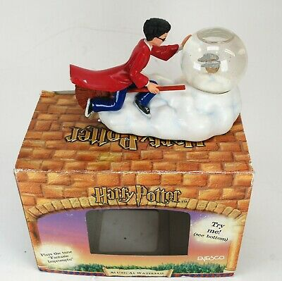 HARRY POTTER MUSICAL WATERBALL SNOWGLOBE SNOW GLOBE Golden Snitch