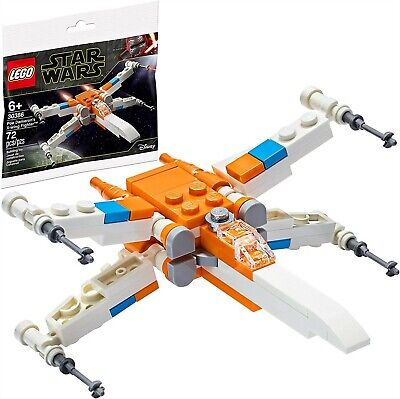 Lego Star Wars 30386 Poe Dameron's X-Wing Fighter Brand New Set Sealed Polybag