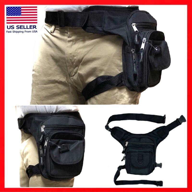 Waist Drop Leg Thigh Bag Outdoor Hip Belt Fanny Utility Pack Pouch holster STYLE