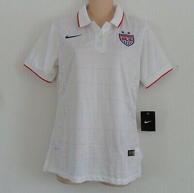 0712466af4f nwt~Nike~USA UNITED STATES of AMERICA Soccer shirt STADIUM Jersey Top~Women  Sz M