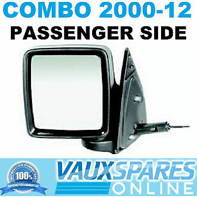 For Vauxhall Adam 12-17 Left passenger side Flat Electric wing mirror glass