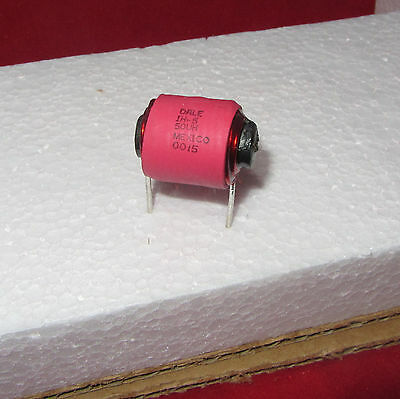 Vishay Dale Ih-5 Noise Filter Inductor Coil - High Current - 50uh 8a Ferrite