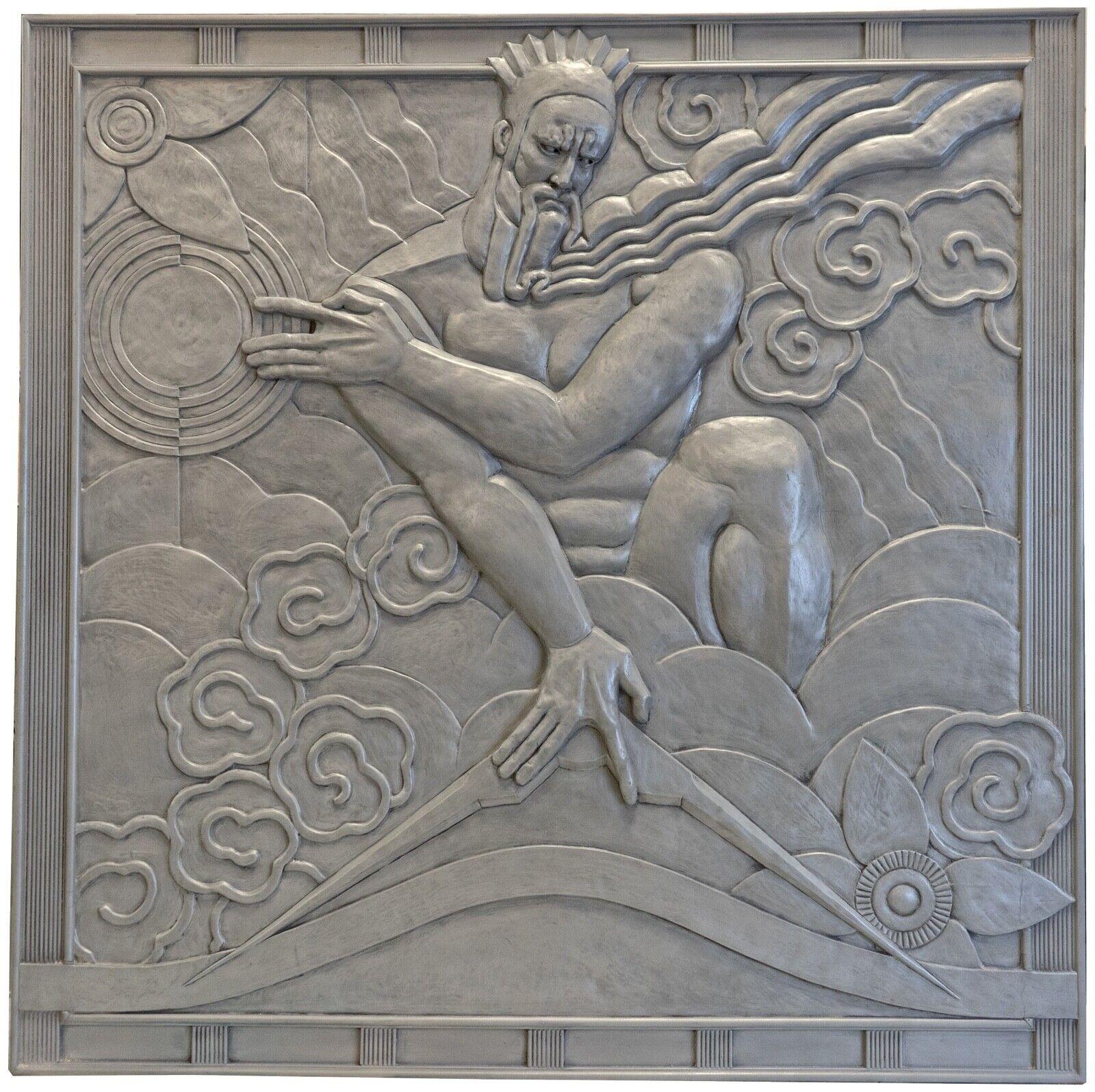 IMPORTANT Art Deco Catalogs Of Estate Sale Relief Panels Rockerfeller  Center