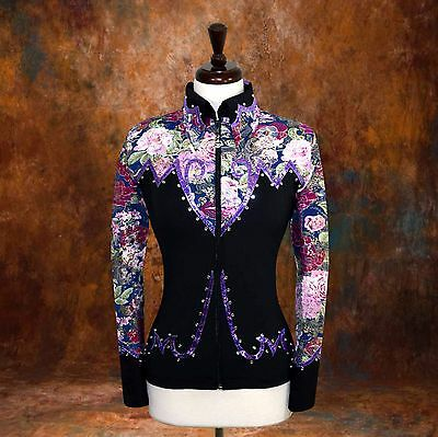 4X-LARGE Showmanship Pleasure Horsemanship Show Jacket Shirt Rodeo Queen Western